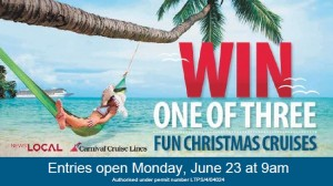 Newslocal – Win 11 day South Pacific Fun Christmas Cruise