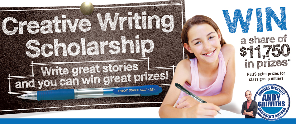 pilot pen creative writing scholarship