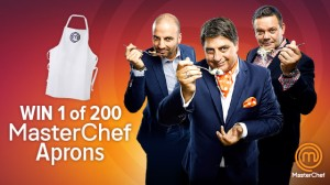 Tenplay – sign up to win 1 of 200 Masterchef aprons