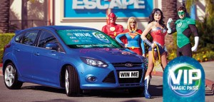 Themeparks – Win a Ford Focus Competition