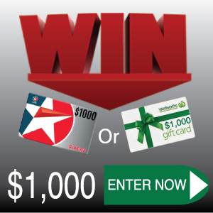 WIN $1,000 Woolworths Gift Card or $1,000 Caltex Gift Card