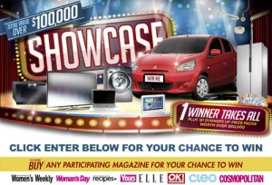 Woolworths – Win a showcase of prizes total value over $100,000
