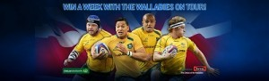 Swisse – Woolworths – Win a trip to London, Ireland to see the Wallabies play