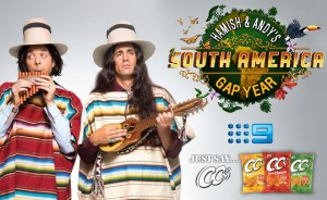 Austereo Radio – Win a trip to South America with Hamish and Andy