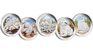 Australian Geographic – Win a megafauna coin set