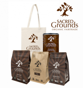 Australian Organic & Natural Directory – Win 1 of 3 Sacred Grounds Coffee Hampers