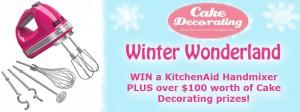Cake Decorating – Winter Hamper Giveaway