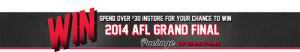 Cellarbrations -Win 2014 AFL Grand Final Trip for you and 3 friends