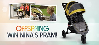 Channel TEN – OFFSPRING – Win A Baby Jogger City Mini GT Nina Pram valued at $649