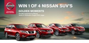 Channel TEN – Nissan – Win one of four Nissan SUVs