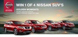 Channel TEN – Nissan – Win one of four Nissan SUVs
