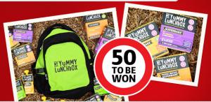 Coles – Win 50 x My Yummy Lunchbox Sampling
