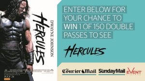 Courier Mail – Win tickets to preview Hercules