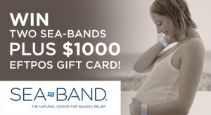 Essential Baby – Win 1 of 3 Prizes including 2 Sea-bands & $1000 Gift card