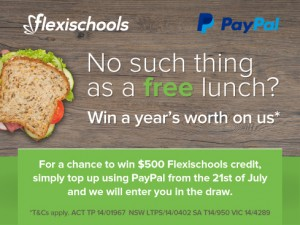 Flexi Schools – Win free lunch for a year