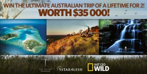 Foxtel and National Geographic – Win the Australian trip for 16 days for 2