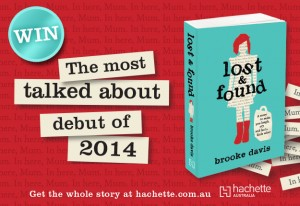 Hachette – WIN 1 of 15 copies of Lost & Found by Brooke Davies