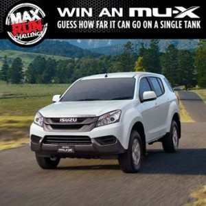 Isuzu UTE Australia – Win an MU-X valued at $36,990