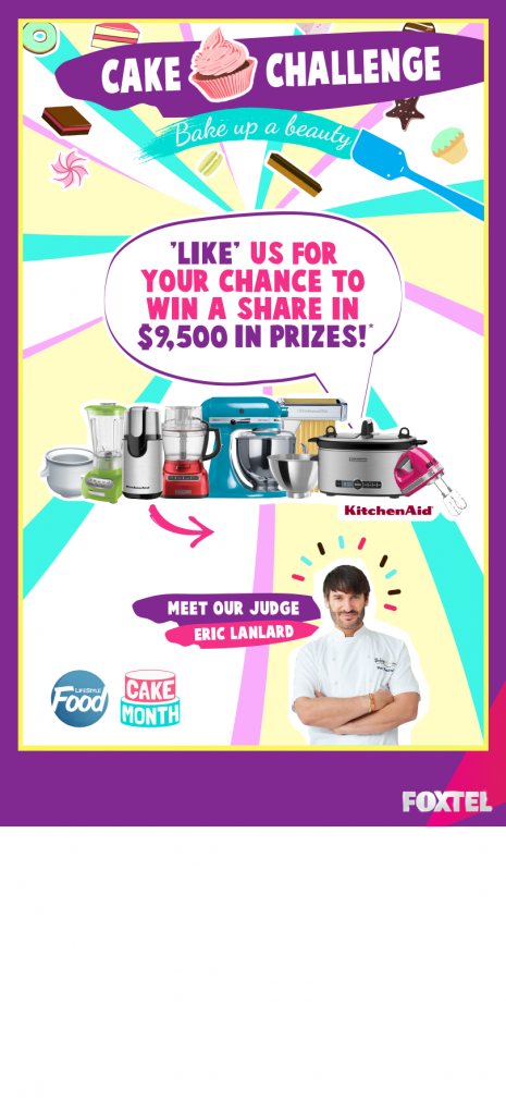 LifeStyle Food – Like for a chance to Win a Share in $9,500 in Prizes
