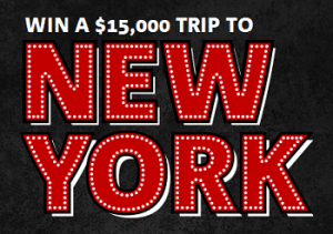 NAB – Win a Trip to New York or $1,000 vouchers