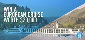 Network TEN – Win an Evergreen Tours European River Cruise