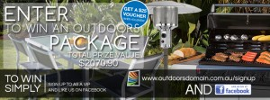 Outdoors Domain – Win an Outdoor package