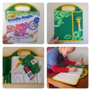 Parenting fun everyday – Win a Crayola Doodle Magic Travel Pack!