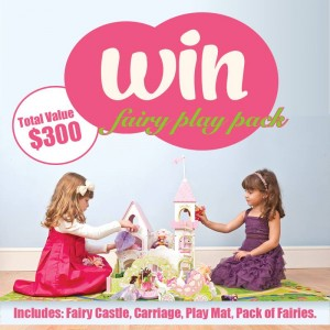 Pretty Little Closet – Win a Fairy Play Pack valued $300