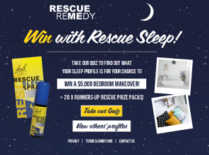 Rescue – Win $5,000 Bedroom Makeover (Take a sleep quiz to win)
