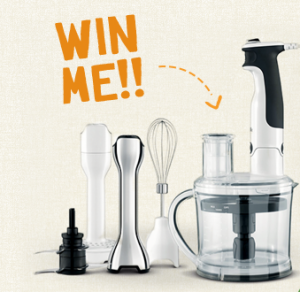 S26 Gold – Win a Breville All in One Stick Mixer valued at $199.95