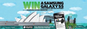 Samsung – WIN a Samsung Galaxy S5 & The Ultimate trip for 2 to Sydney