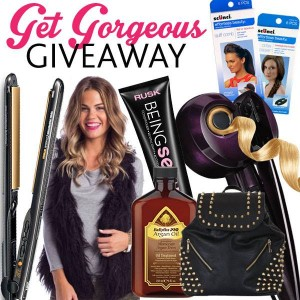 Scunci Hair Accessories – Win over $7,500 worth of prizes Get Gorgeous giveaway