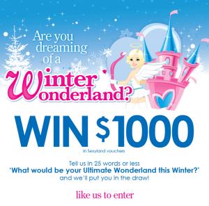 Sexyland Australia – Win a $1K Sexyland Voucher