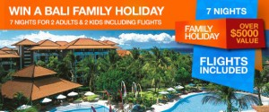 Spreets – Win A Bali Family Holiday worth over $5,000