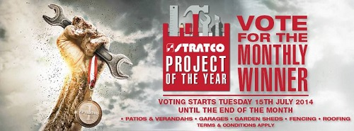 Stratco – Vote 2014 Stratco Project of the Year to Win a $1,000 Stratco gift card