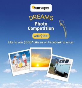 Sunsuper – Like to Win 1 of 4 Gift Cards Valued at $500