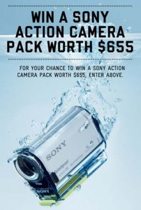 SurfStitch – WIN a Sony Action Cam Pack Worth $655
