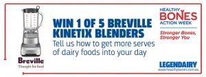 Taste Magazine – Win 1 of 5 Breville Kinetix Control blenders