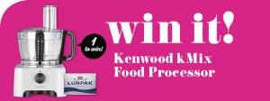 Taste.com.au – Win a Kenwood kMix Food Processor