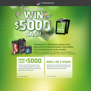 Thermoskin – Win $5000 cash