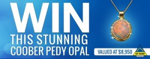 Top Tourist Parks – Win a Coober Pedy Opal Pendant Competition