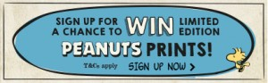 Typo – Sign Up to Win 1/3 Peanut Packages