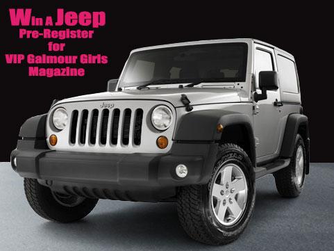 VIP Glamour Girls Magazine U2013 Win A Jeep Wrangler
