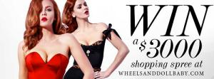 Wheels and Dollbaby – Win a $3,000 wardrobe