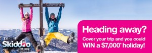 Win a $7,000 holiday with Priceline Protects and Skiddoo!