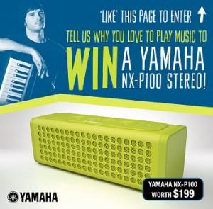 Yamaha Music School Australia – Win a Yamaha NX-P100 Stereo giveaway