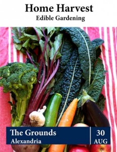 Australian Organic Directory – WIN A Ticket  To the Home Harvest Edible Gardening Workshop 30 August 2014 at The Grounds, Alexandria  Valued at $245
