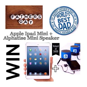 Beaches Kids – Win an Apple Ipod & Speakers for Dad