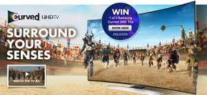 Bing Lee – Win 1 of 4 Samsung Curved UHD TVs Competition