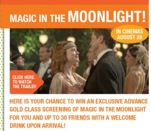 Boost Juice Bars – Win a Gold Class Screening of Magic in the Moonlight